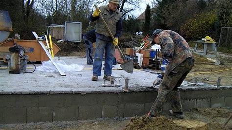 Garage Bauen Welche Steine 3217 by Wir Bauen Eine Garage