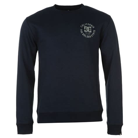Sweater Dc Dc Dc Stay Gold Mens Sweater Mens Sweaters