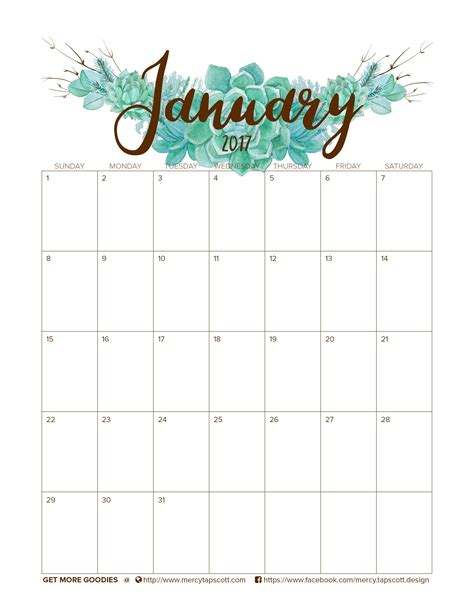 doodle like calendar free january 2017 calendar mercy tapscott