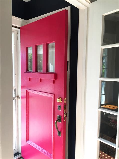 Pink Front Door Paint Teal House Paint Reveal Before And After And Then We Tried