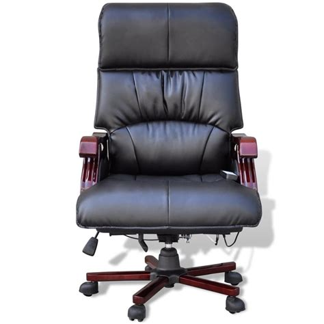 Real Leather Chair Black Top Real Leather Adjustable Office Chair