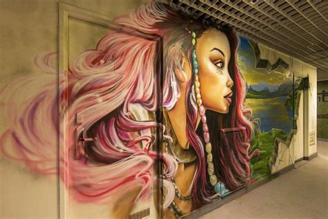 Wall Art Designs Bedroom Asks 100 Graffiti Artists To Paint It Before