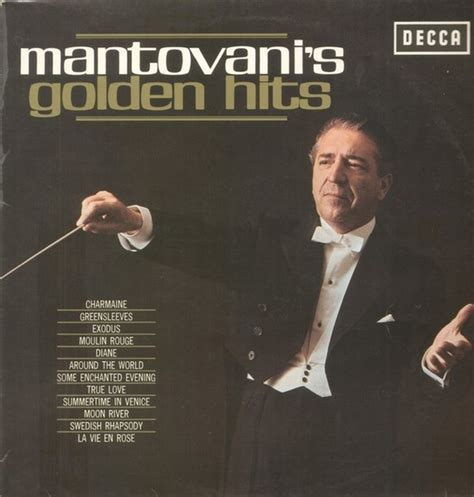 mantovani and his orchestra mantovani and his orchestra mantovanis golden hits decca