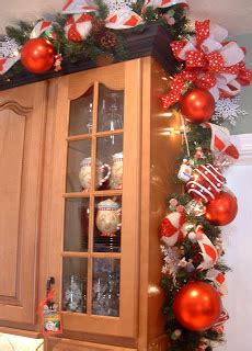 drapey christmas lights diy decor for the kitchen