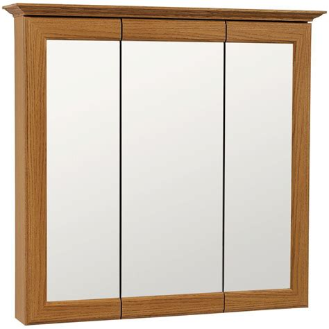 Oak Medicine Cabinets Surface Mount by American Classics 31 In W X 29 1 2 In H Framed Surface