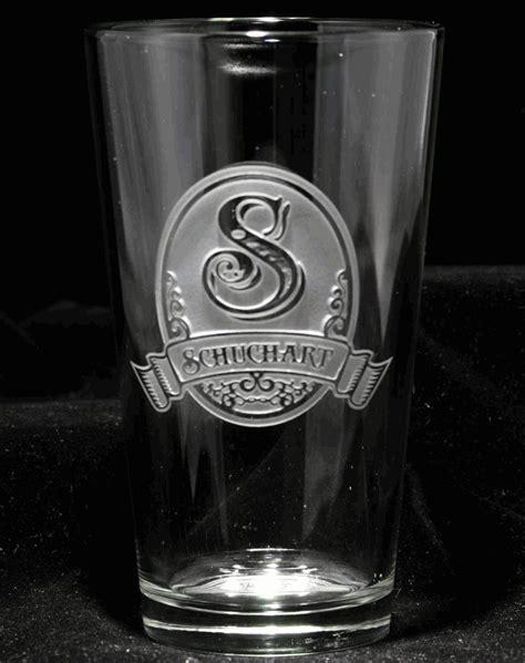 Unique Bar Glasses Glasses Pub Pint Custom Engraved Personalized Set Of 4