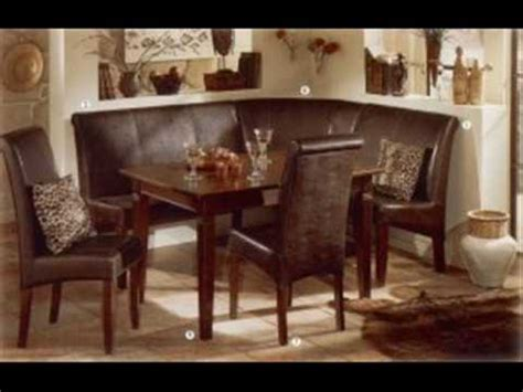 german furniture warehouse collection leather breakfast nook youtube