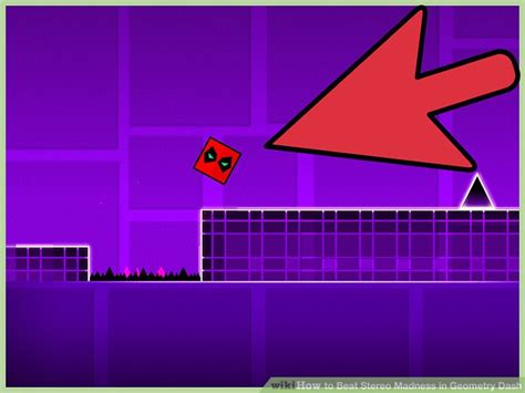 geometry dash full version beat how to beat stereo madness in geometry dash with pictures