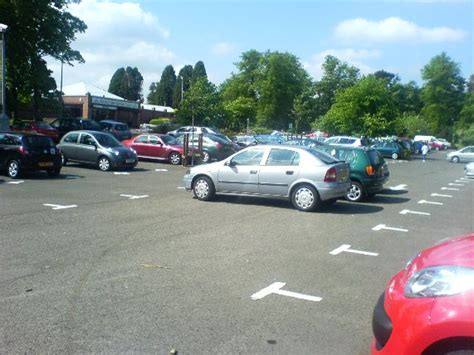 three cars use 14 car parking bays getting worse