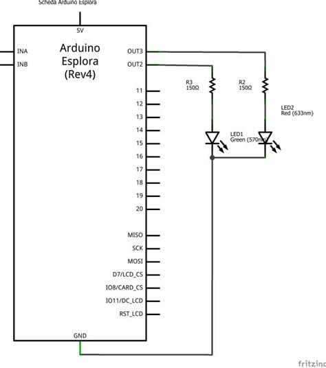 testare porte scheda arduino esplora test porte out
