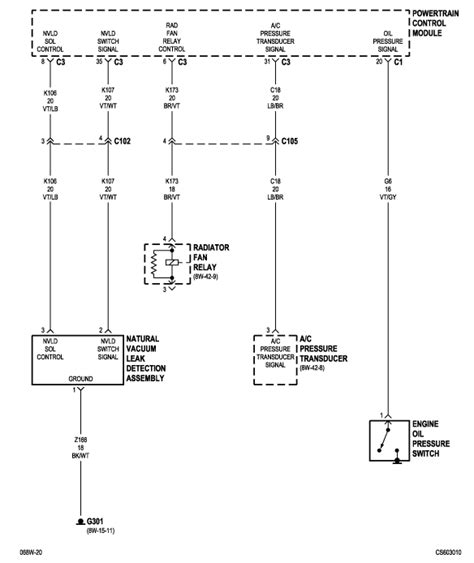 2006 chrysler pacifica im looking for a fan relay wiring diagram