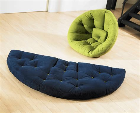 Futon Nest Chair by Nest Transformable Futon Furniture