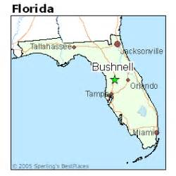 map of bushnell florida best places to live in bushnell florida