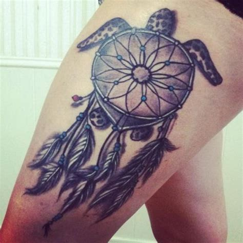 dream catcher leg tattoo tumblr 35 dreamcatcher tattoos on leg