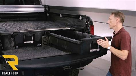 decked truck bed reviews decked truck bed storage system product review youtube