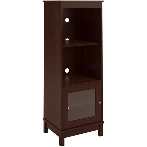 pier cabinet entertainment center audio pier side tower cabinet entertainment cherry media