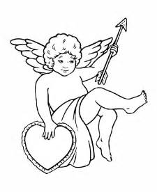 cupid coloring pictures cupid with and arrow coloring pages coloring