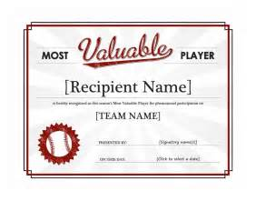 Baseball Template by Baseball Award Template Baseball Award Templates