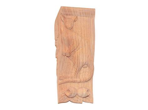Wooden Corbels Australia Large Carved Kangaroo Corbel N1 N1 38 50