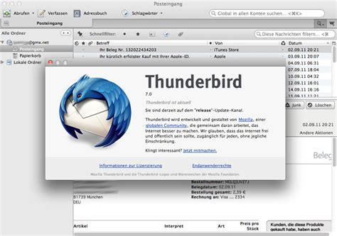 Thunderbird Email Search Best Free Mail Apps For Mac Os X