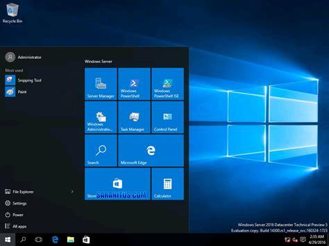 Server Microsoft ไมโครซอฟท ออก windows server 2016 technical preview 5