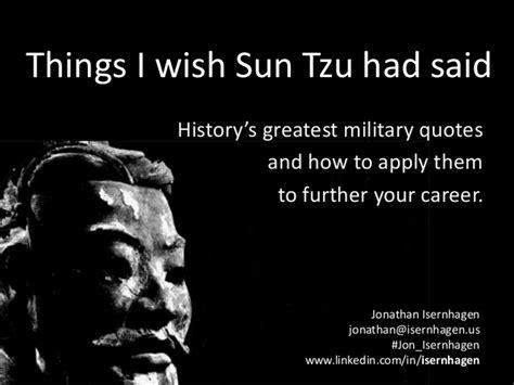 things i wish sun tzu had said history s greatest