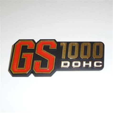 Emblem Panel Yamaha F1z R 68131 49010 68131 49000 emblem badge side panel frame cover suzuki gs1000