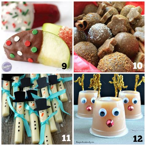 20 christmas snacks kids will love