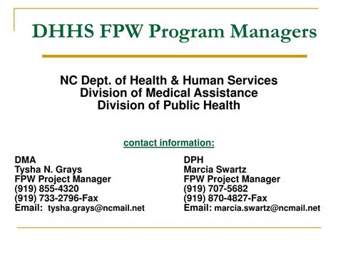 department of health care services recovery section ppt north carolina be smart family planning waiver