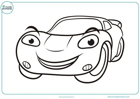 imagenes para colorear un carro dibujos de coches para colorear mundo primaria