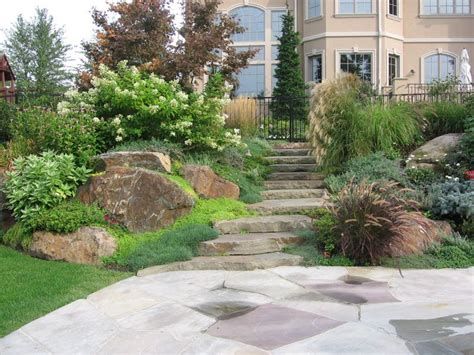 backyard hill landscaping ideas backyard hill landscaping on