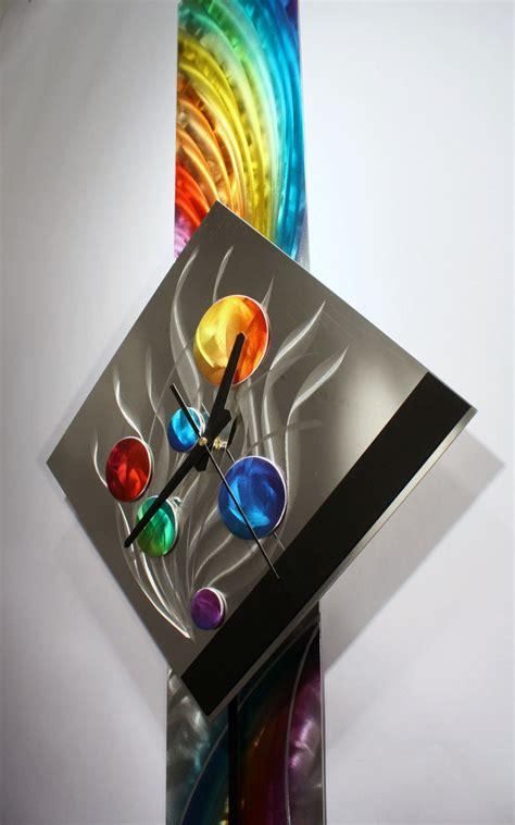 wall decor sculpture modern metal wall pendulum clock abstract sculpture