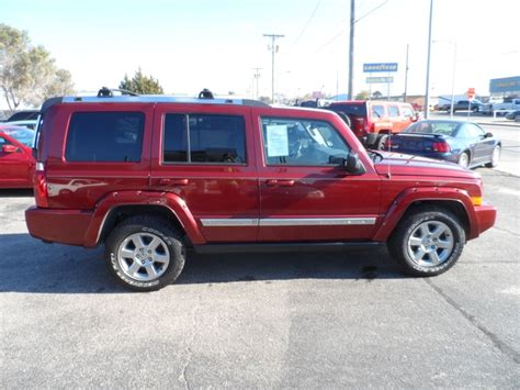 jeep commander with 3rd row seating 2008 jeep commander 5 7l 3rd row seat 4x4 nex tech