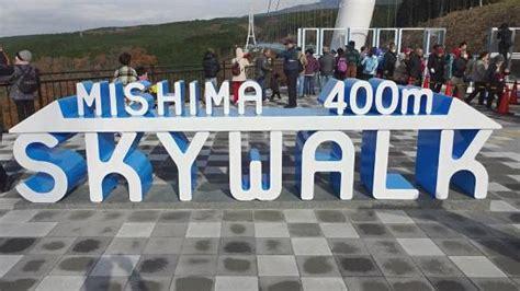 gunung fuji  mishima skywalk info wisata  liburan