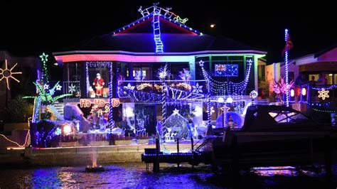 mandurah s canals christmas lights photos mandurah mail