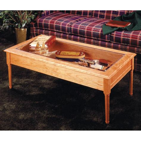 Glass Topped Coffee Table Woodworking Plan From Wood Magazine Window Coffee Table Plans