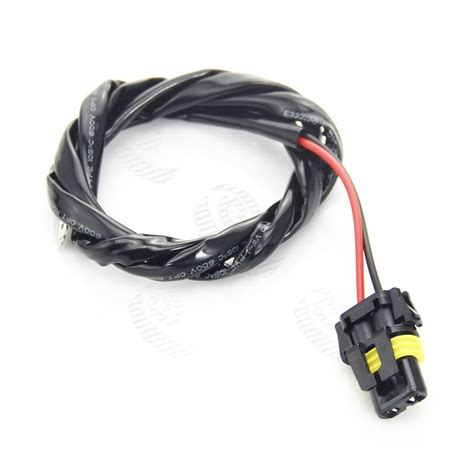 Lu Mobil Headlight Alpha Hid Series Singel Bulb H7 6000k h1 h3 connectors plugs pigtail bulb wire harness hid input wires buy hid high voltage