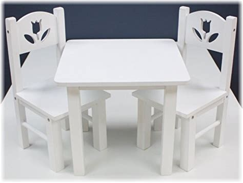 18 inch doll desk set 18 inch doll furniture wooden table and chairs set 18
