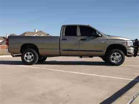 6 Door Dodge Truck by Purchase Used 2007 Dodge Ram 2500 Slt Crew Cab 4