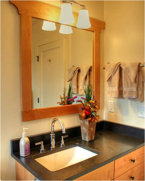 bathroom decor on corner bathroom vanity