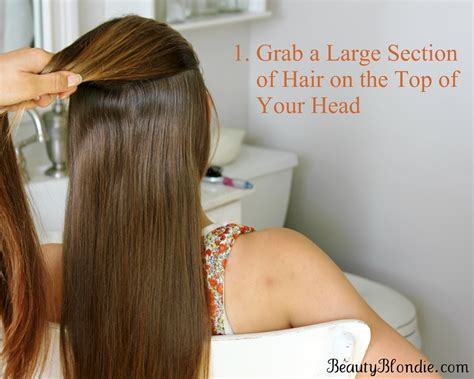 how to section hair for braids french braid your hair in 7 simple steps with a video