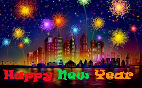 happy  year fireworks image hd desktop backgrounds