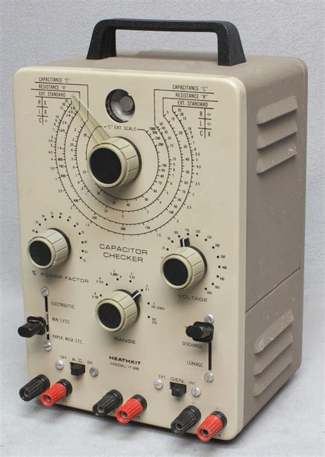 heathkit capacitor checker model it 28 radiolaguy heathkit it 28 capacitor checker