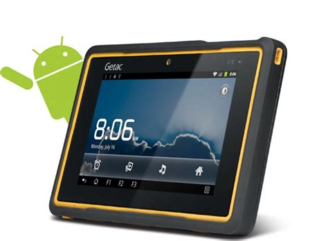 Rugged Pad by Getac Z710 Fully Rugged Tablet Ip65 810g Sunlight