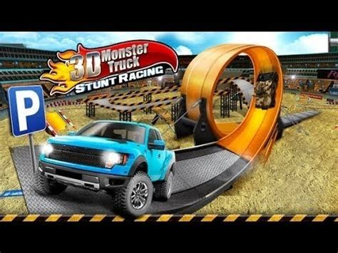 3d monster truck racing 3d monster truck stunt racing free game gameplay