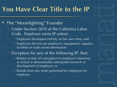 california labor code section 2870 what it means to be fundable