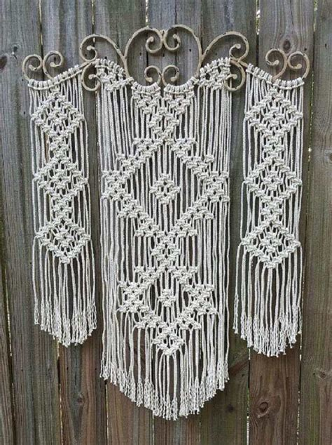 Make Macrame Wall Hangings - how to make macrame wall hanging diy projects craft ideas