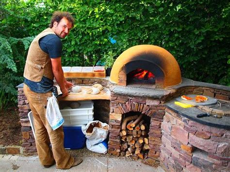 tandoor oven backyard pinterest pizza outdoor oven