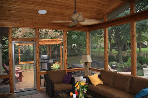 patio deck designs with screen room posted by all custom aluminum at 12 09 pm no comments leawood ks screen porch with custom pella doors azek deck
