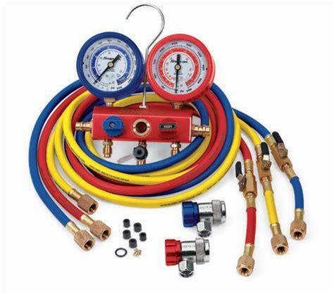 Testing Manifold Ac manifold test gauges r134a r12